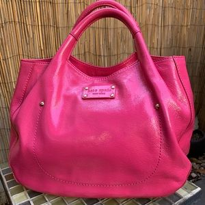 """KATE SPADE NY """"34TH ST PATENT LEATHER BAG"""